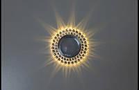 Точечный светильник (спот)cо встроенной LED подсветкой7615 White