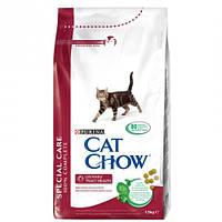 Cat Chow Special Care Urinary Tract Health корм для кошек (профилактика мочекаменной болезни) 1,5КГ