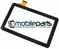 """Оригинальный Сенсор (Тачскрин) для планшета 10.1"""" JA-DH1027A1-PG-FPC105 (255*146 мм, 50pin)(Черный-Самоклейка)"""