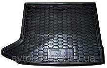 Полиуретановый коврик в багажник Audi Q3 2011-  (AVTO-GUMM)