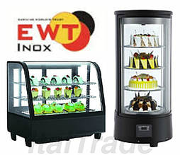 Витрины кондитерские EWT Inox (Германия)