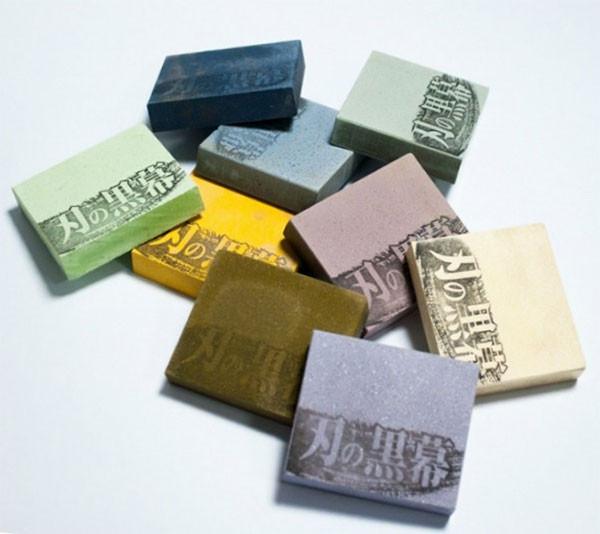 Камень для заточки SHAPTON Pro, 70х62-57х15мм 120 grit (белый)
