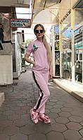 Женский прогулочный костюм Colors of California светло-розовый