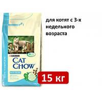 Cat Chow Kitten Корм для котят (с курицей) 15КГ