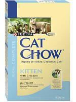 Сухой корм Cat Chow Kitten Корм для котят (с курицей) 0,4КГ
