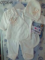 Детский набор для новорожденных девочек Турция оптом