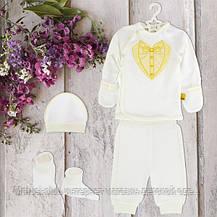Одежда для крестин, для мальчика 1-3мес Хлопок-интерлок. 1848инм.,в наличии _62_68рост, фото 3