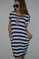Платье полоска Турция, фото 1