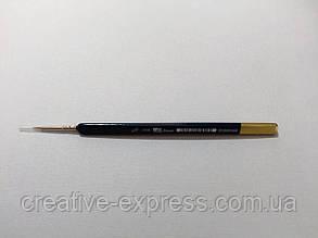Колонок круглий, ART MASTER 3009L №4/0, к.р. пензель