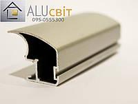 Вертикальный профиль EGO А107 серебро открытый