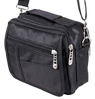 Мужская сумка через плечо Барсетка 15х18х8см