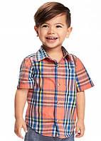 Детская рубашка с коротким рукавом Old Navy Олд Неви для мальчика