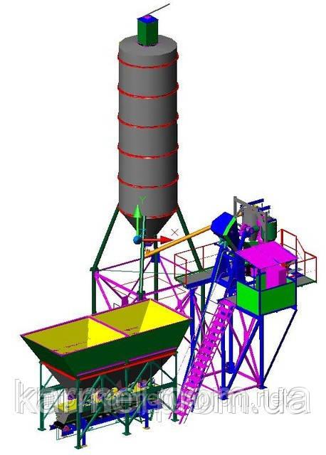 Бетонный завод (БСУ-12С)