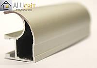 Вертикальный профиль Super АА14 серебро открытый