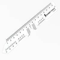 Линейка ― пупиллометр для подбора очков, 150 мм, Hobbit Tools