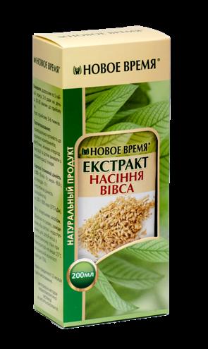 Масло семян овса Новое время, 200 мл