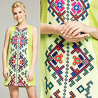 Літня сукня для дівчат з українським візерунком, фото 1