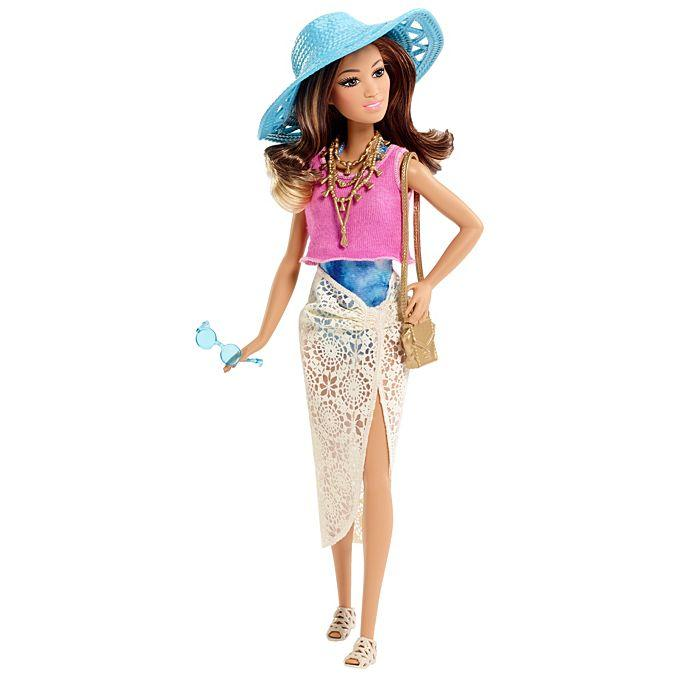 Кукла Барби гламурный отпуск Barbie Glam Vacation Doll Trendy Tie Dye