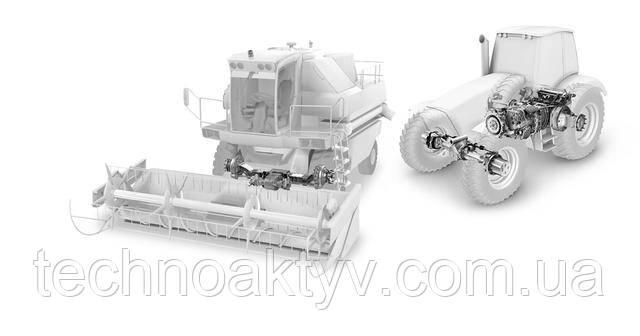 Продукция ZF для комбайнов и тракторов
