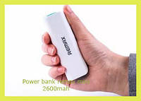 Power bank remax mini 2600mah