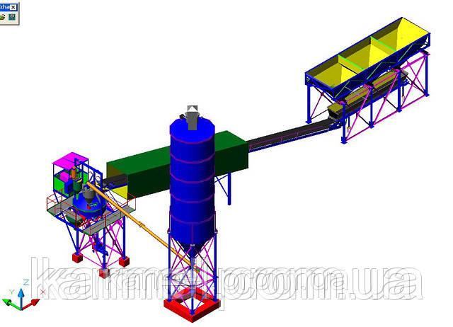 Бетонный завод (БСУ-20К)