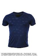 Футболка мужская PHILIPP PLEIN 5919 тёмно-синяя, фото 1