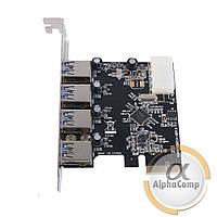 Контроллер PCIe - USB3.0 VL805-Q6 (EXT: 4×USB3.0, POWER: sata)