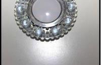 Точечный светильник (спот)cо встроенной LED подсветкой, 7125 White
