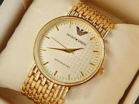 Часы Emporio Armani под золото