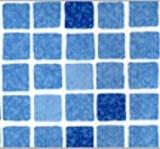 ПВХ пленка  для бассейна SBG 160 Мозаика синяя (ширина 1,65м)