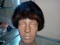 Меховая шапка из норки.