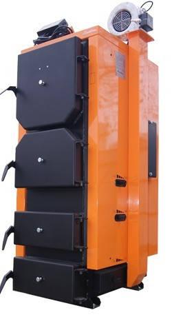 Универсальный твердотопливный котёл длительного горения HeatLine 10 kW от 50 до 100 кв м, фото 2
