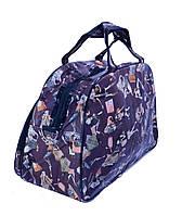 Дорожная сумка кожзам Fashion большая -L 53х29х18