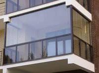 Остекление каленым стеклом