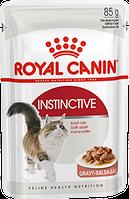 Royal Canin Instinctive (кусочки в соусе) Консервы для кошек старше 1 года 85 г