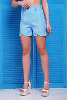 Летние голубые шорты Lola Fashion UP 42-48 размеры