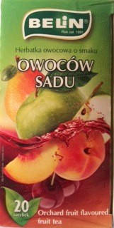Чай фруктовий Belin зі смаком садових фруктів та ягід, 20 пак