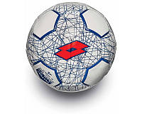 Футбольный мяч BALL FB700 LZG 5 WHITE/RED FLUO