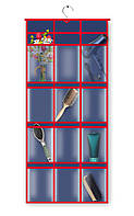 Кофр для мелочей подвесной 60х90 см 12 отделов
