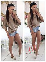 Блуза (Фабричный Китай) качество люкс ткань шелк