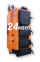 Универсальный твердотопливный котел HeatLine 24 kW от 170 до 240 кв м