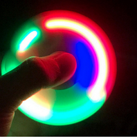 Спиннер с LED подсветкой Fidget Toy, Hand spinner, finger spinner, Вертушка, Хендспиннер фиджет