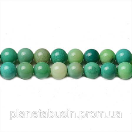 8 мм Натуральный Хризопраз, CN242, Натуральный камень, Форма: Шар, Отверстие: 1мм, кол-во: 47-48 шт/нить, фото 2