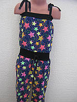 Літній комбінезон (топ + штани)  для дівчинки (7-8 років)