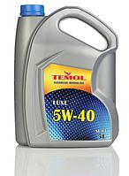 Моторное масло TEMOL Luxe 5w40 1/4/5/20/205л.