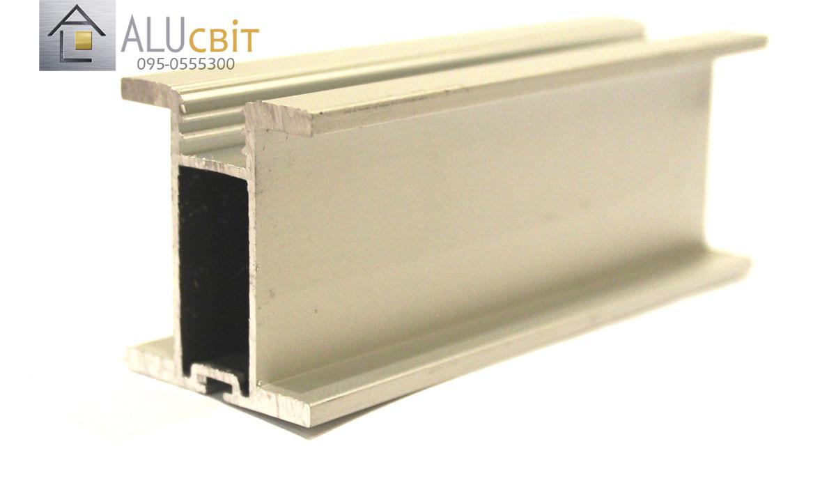 Вертикальный профиль SLIPP Н-40 серебро закрытый