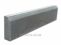 Борт дорожный 12 см серый, 100х25х12 см