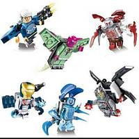 """Конструктор ELEPHANT JX1017 """"Heroes Assemble"""" 6в.12шт.в кор.25,3*12*17,2 ш.к./32/384/"""