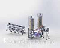 Бетонный завод (БСУ-40К)