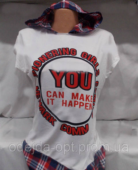 Женская стильная футболка оптом